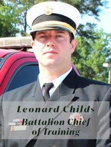 Leonard Childs_Battalion Chief of Training (Personnel Picture)