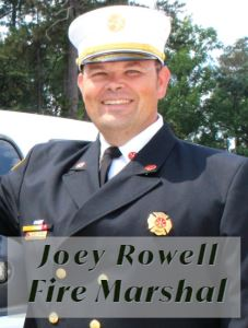 Joey Rowell_Fire Marshal (Personnel Picture)